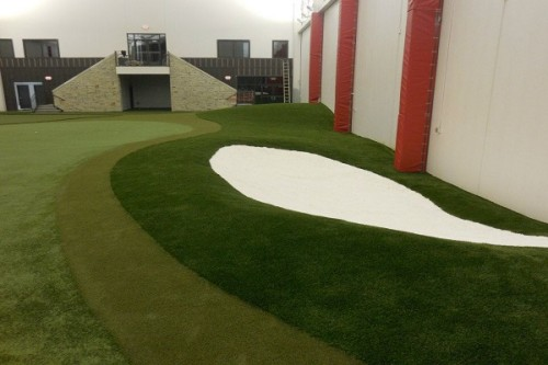 indoor golf grass ohio
